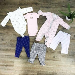 [Carter's] Bundle of 0-3 Months Baby Girl Clothes